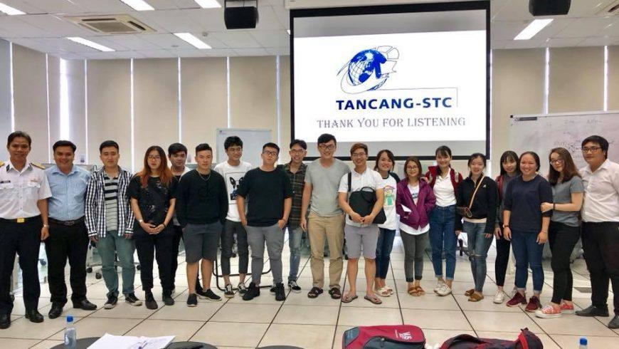 Đào tạo học viên trên hệ thống mô phỏng hiện đại (Simulator) ở Tân Cảng-STC