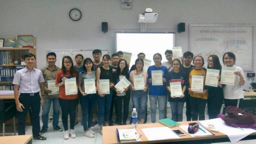 Kết thúc ngày cuối cùng của Khoá huấn luyện thực tế cho sinh viên Đại Học Hoa Sen (khoa kinh doanh quốc tế)