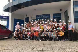 Cao Đẳng Công Thương Thành Phố Thành Phố Hồ Chí Minh tham gia khoá huấn luyện thực tế tại Cảng Cát Lái ngày 11/5 vừa rồi