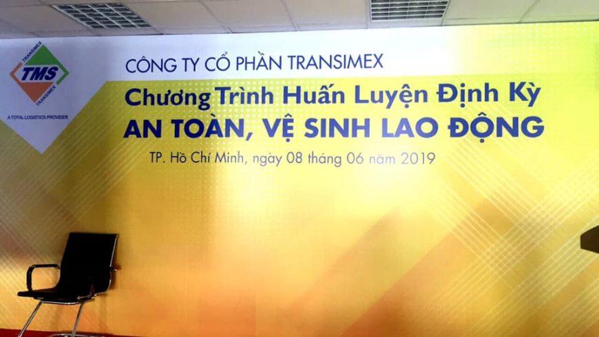 Tân Cảng-STC vừa tổ chức Huấn luyện ATVS lao động cho Công ty CP Transimex.