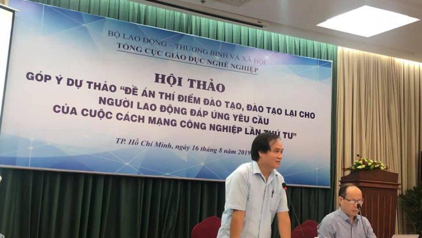 Tân Cảng-STC được vinh dự mời tham dự và đóng góp ý kiến cho Hội thảo với chủ đề này vào ngày 16/8 vừa qua