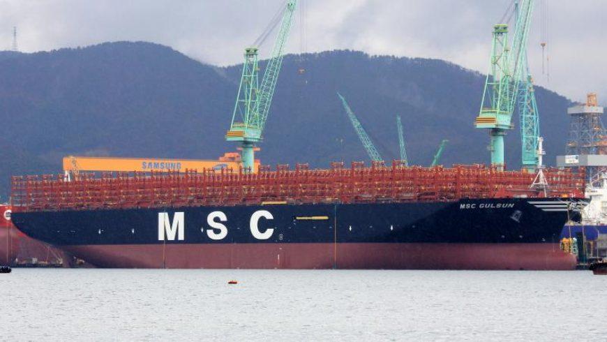 Tàu container lớn nhất thế giới