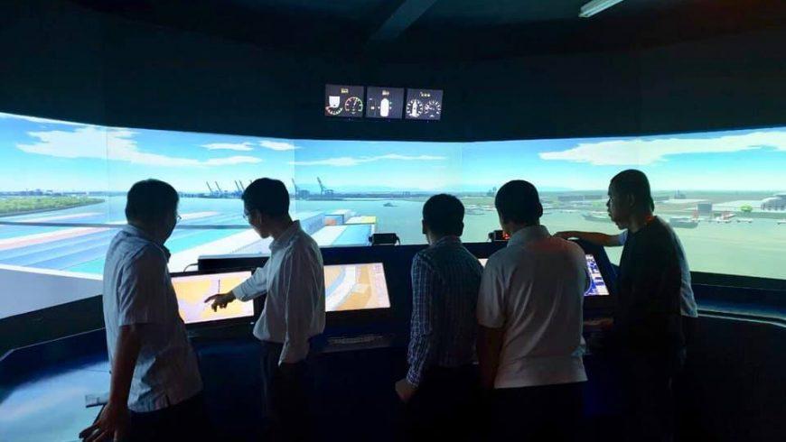 Hình ảnh khoá huấn luyện nghiệp vụ chuyên môn cho các hoa tiêu thuộc Công ty Hoa Tiêu Tân Cảng đang diễn ra