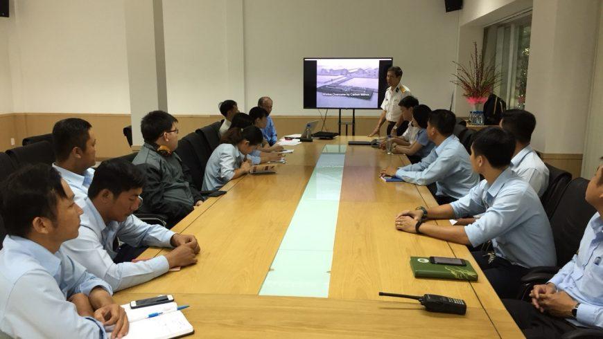 An toàn Vệ Sinh Lao Động- lớp học trọng điểm của Tân Cảng- STC!!!