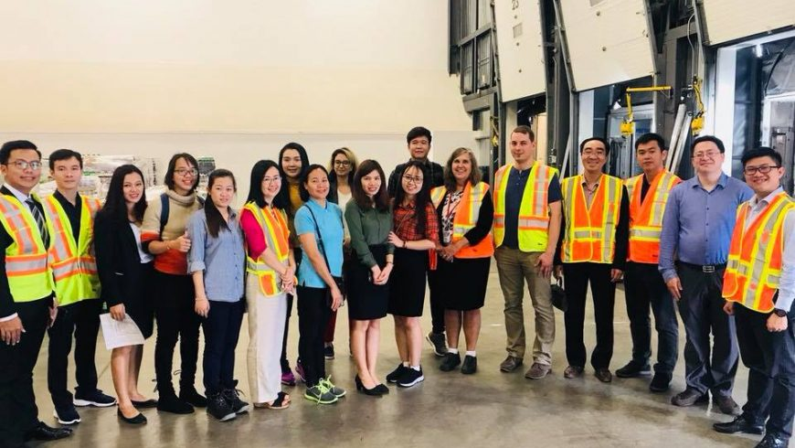 Our participants are visiting Armour Transportation Group (Canada)