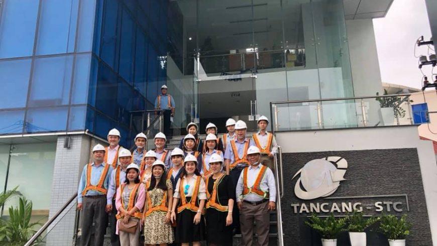 Chào mừng các giảng viên trường Cao Đẳng Công Nghệ Thủ Đức (TDC) đến tham quan và làm việc tại Tân Cảng-STC.