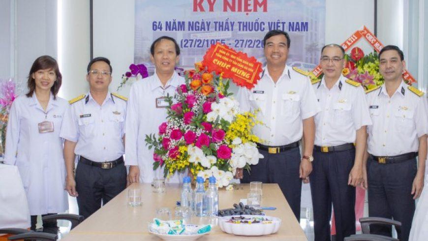 Kỷ niệm 64 năm ngày Thầy thuốc Việt Nam (27/2/1995 – 27/2/2019),