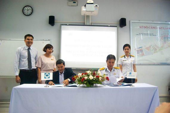 Tân Cảng-STC đã tổ chức buổi lễ ký kết BIÊN BẢN GHI NHỚ HỢP TÁC cùng trường ĐH Kinh tế Tp.HCM.