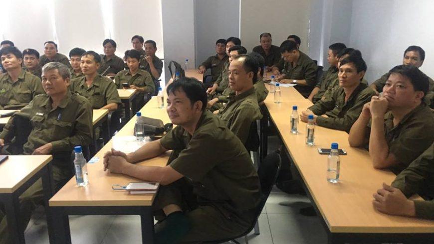 Huấn luyện ATVSLĐ cho CBNV Xí Nghiệp cơ giới