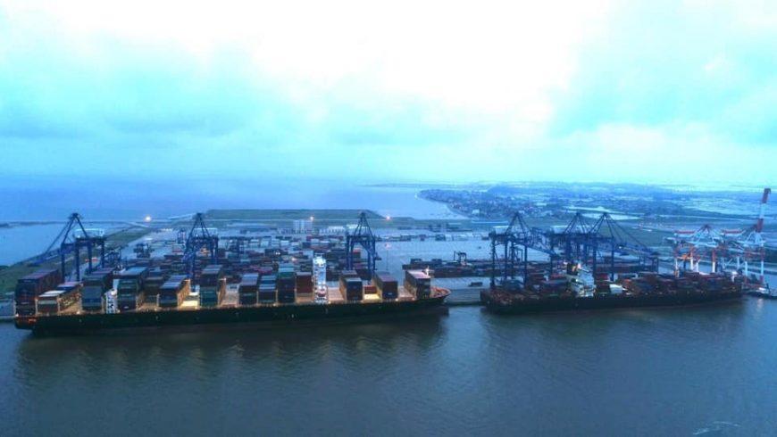 Xin chúc mừng HICT với cột mốc mới. Đây là con tàu lớn nhất từ trước đến nay từng cập cảng biển khu vực Hải Phòng.