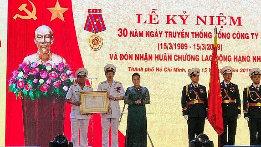 Tổng Công ty Tân Cảng Sài Gòn: Khẳng định Thương hiệu Quốc gia trong lĩnh vực kinh tế biển