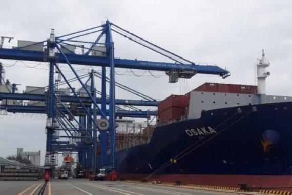 Tiếp nhận tàu Osaka, Tân Cảng Hiệp Phước tiếp tục khẳng định vị thế trên thị trường khai thác cảng.