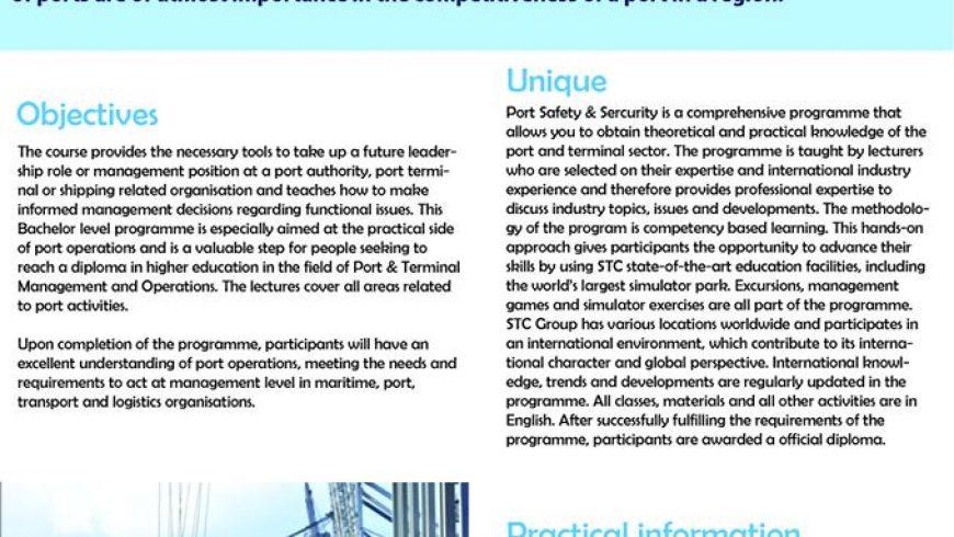 AN TOÀN VÀ AN NINH CẢNG BIỂN (Port Safety and Security)