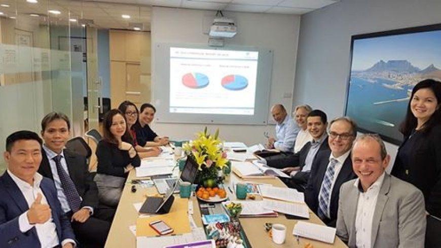 Họp Hội đồng thành viên Tân Cảng-STC mở rộng được tổ chức ngày hôm qua tại văn phòng STC Việt nam ở Thủ đô Hà Nội.