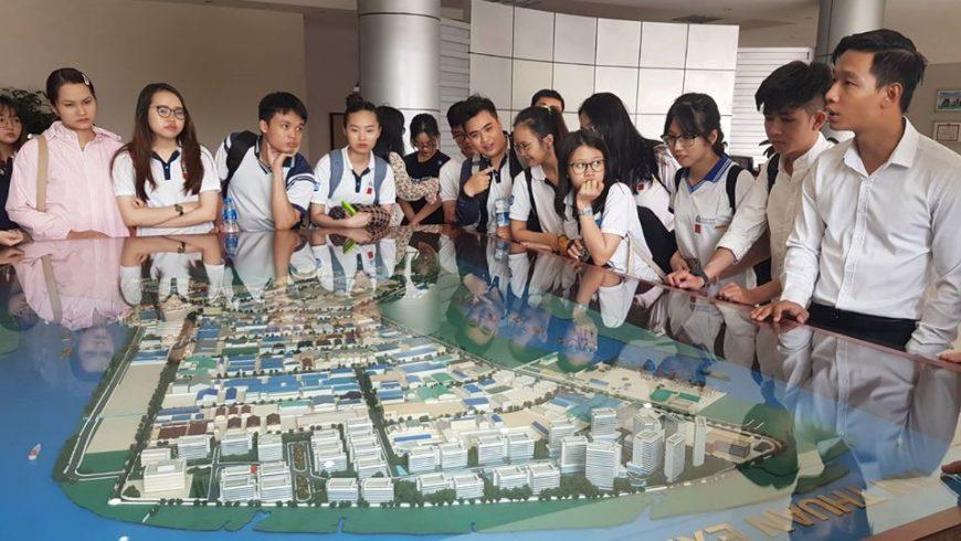 Huấn luyện tham quan thực tế tại khu Chế xuất Tân Thuận – Quận 7.