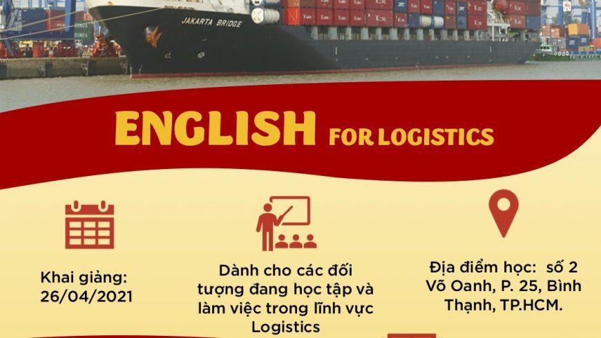 KHAI GIẢNG KHÓA HỌC ENGLISH FOR LOGISTICS