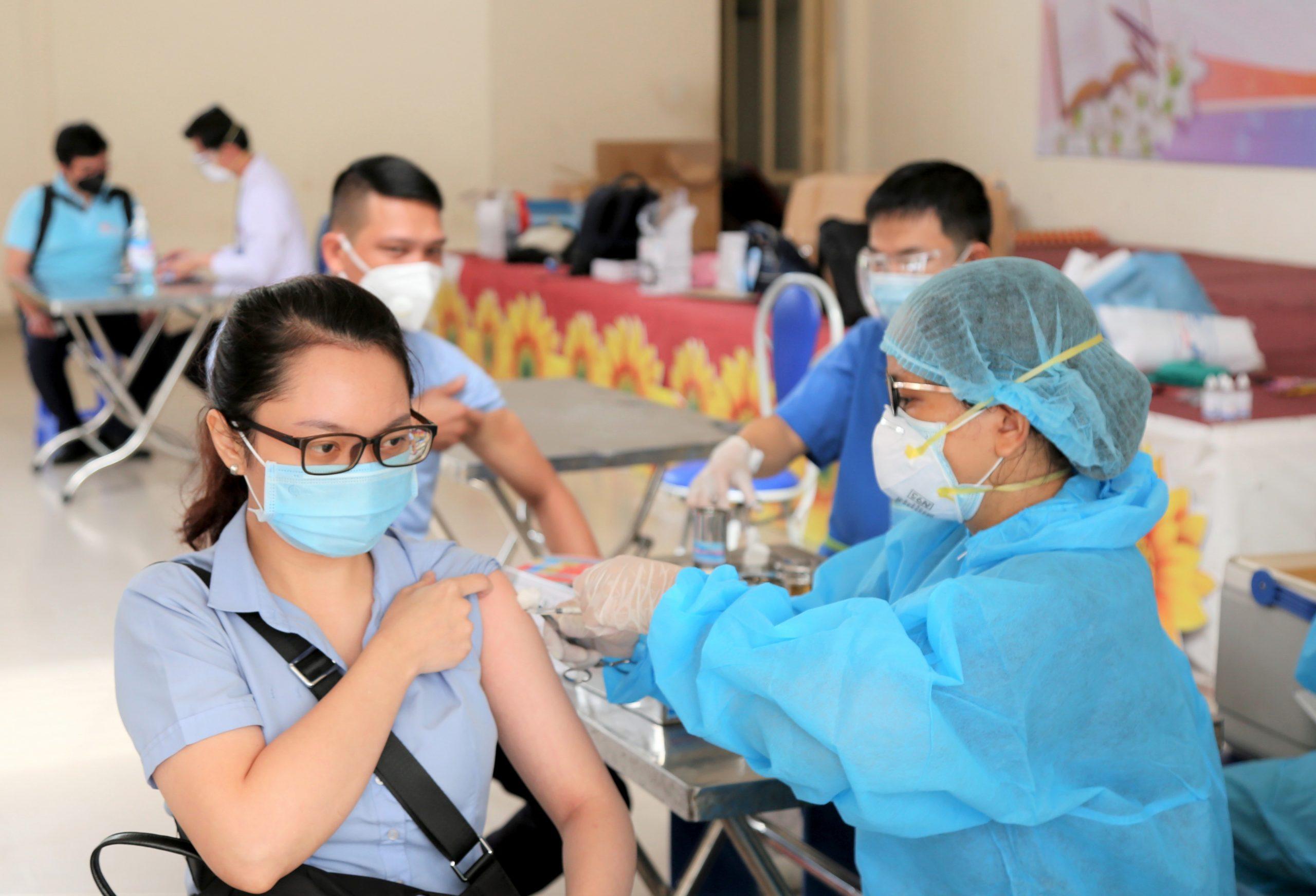 Tổng công ty Tân cảng Sài Gòn: Thần tốc triển khai chiến dịch tiêm vắc xin phòng Covid-19